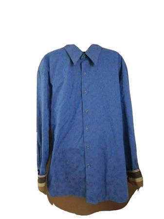 Photo NWOT Robert Graham Blue Men39s Shirt - $150 (Little Ferry)