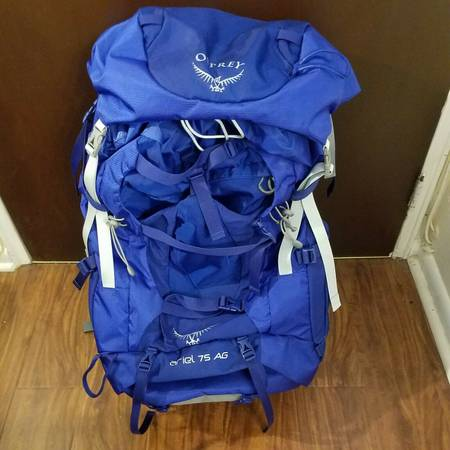 Photo Osprey Packs Ariel AG 75L Backpack Tidal Blue Women39s Small - $225 (Little Ferry)