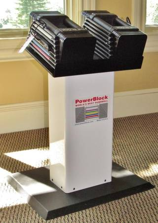 Photo Powerblock Adjustable Dumbbells 5-45lbs - $785 (Hackettstown)