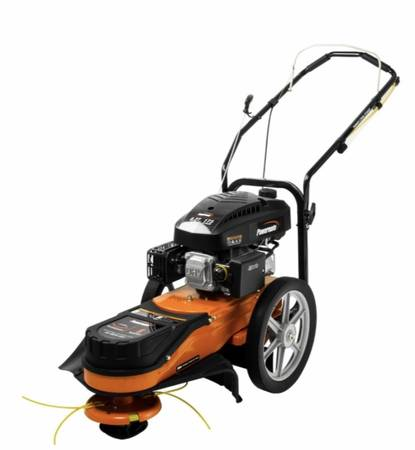 Photo Powermate 22 in. 173cc Gas Walk-Behind Field String Trimmer Mower - $250 (Morristown)