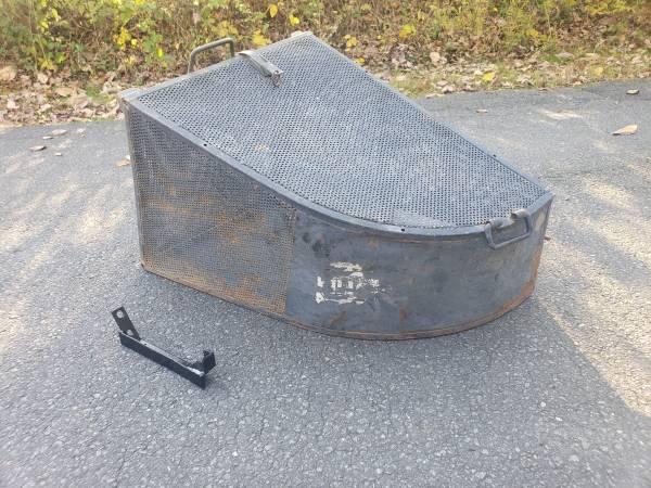 Photo Rackem Steel Bagger for Commercial Walk Behind and Zero Turn Mowers - $150 (07830 Califon, Hunterdon County)