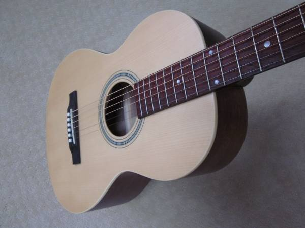 Photo Recording King Acoustic Guitar (All Solid Wood) - $240 (Wayne)
