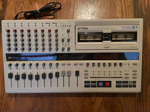 Photo Sansui WS-X1 6-track cassette multitrack recorder, mint condition - $775 (Jersey City)