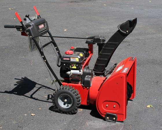 Photo Sears Craftsman Snow Blower 24quot, 3 yrs old - $350 (Long Valley, NJ)