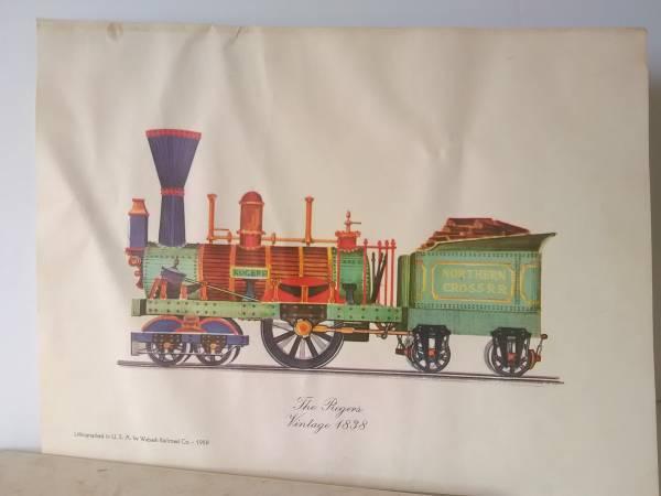Photo The Rogers Train Engine- 1838 - $59 (KEARNY)