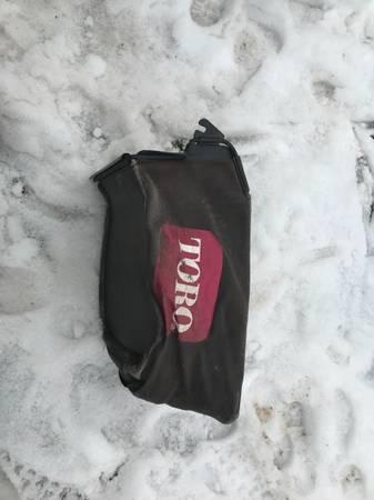 Photo Toro lawn mower bag catcher grass - $50 (Hillside nj)