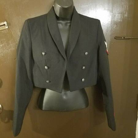 Photo US Navy Women39s Enlisted PO3 Dress Jacket Size 8 Petite Flying Cross - $50 (Little Ferry)