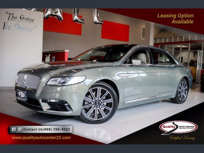 Photo Used 2017 Lincoln Continental Reserve for sale