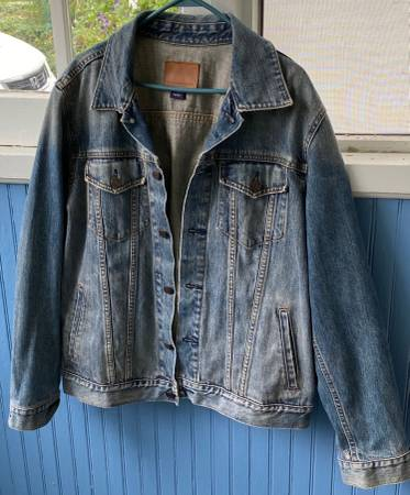 Photo Vintage Denim Jacket Large Unisex Mens 1969 Gap Jeans - $15 (West Orange)