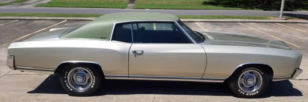 Photo 1972 Chevy Monte Carlo - $17,000 (Baton Rouge)