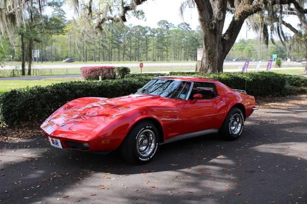 Photo 1973 Chevrolet Corvette T-top coupe, L48, 4 speed, award winner - $27500 (Mandeville)