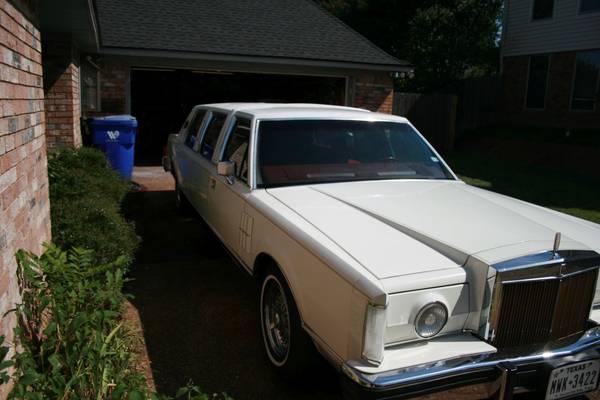 Photo 1980 Lincoln Mark VI Dabryan Stretch Limo - $6,500 (Waco, TX)