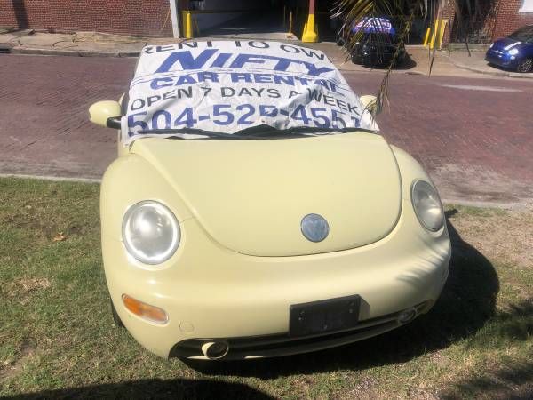 Photo 2005 VOLKSWAGON BEETLE CONVERTIBLE - NO CREDIT CHECK (RENT TO OWN, NIFTY CAR RENTAL, NEW ORLEANS)