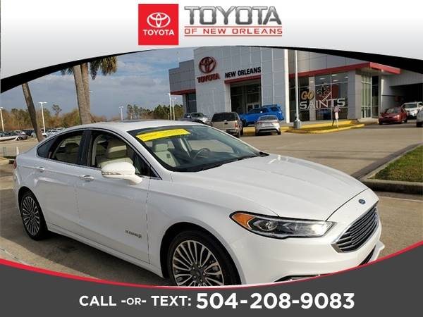 Photo 2018 Ford Fusion Hybrid - Down Payment As Low As $99