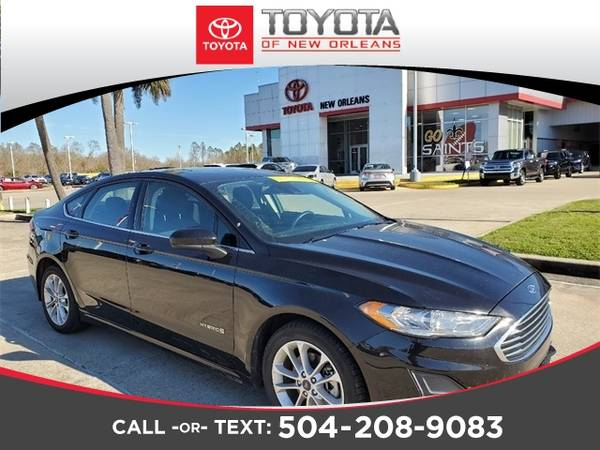 Photo 2019 Ford Fusion Hybrid - Down Payment As Low As $99