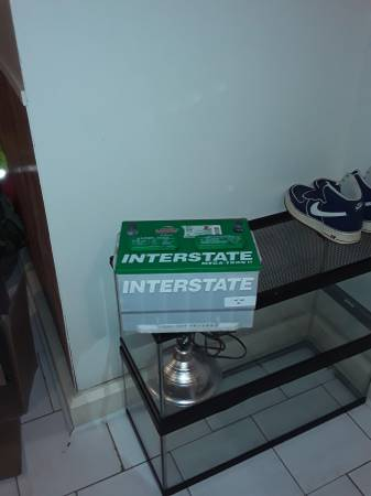 Photo 5 year Interstate Megatron 2 Battery for Crown Vic Grand Marquis - $85 (New Orleans)