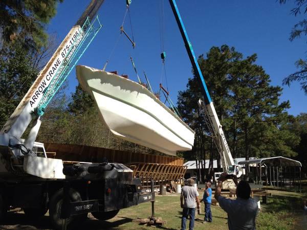 Photo 76 ft boat mold for building fiberglass houseboat  yacht - $5,000 (Covington)