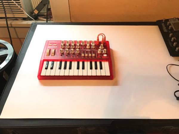 Photo Arturia MicroBrute semi modular synthesizer - $200 (New Orleans)