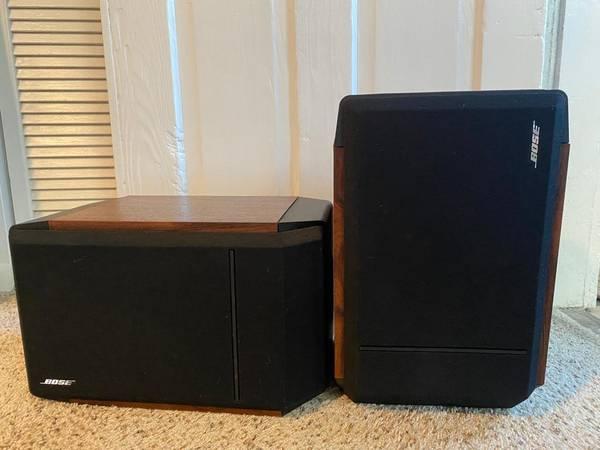 Photo Bose 301 Series IV DirectReflecting Vintage Speakers - $110 (New Orleans)