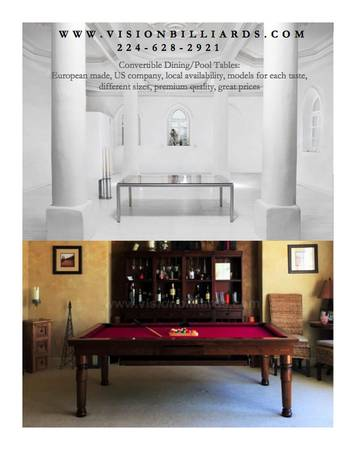 Photo CONVERTIBLE Table -- DINING  Conference  POOL - $3700 (new orleans)