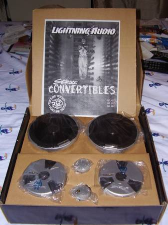 Photo Car Stereo Speakers-Component System by Lightning Audio 4 14-12size - $40 (SLIDELL)