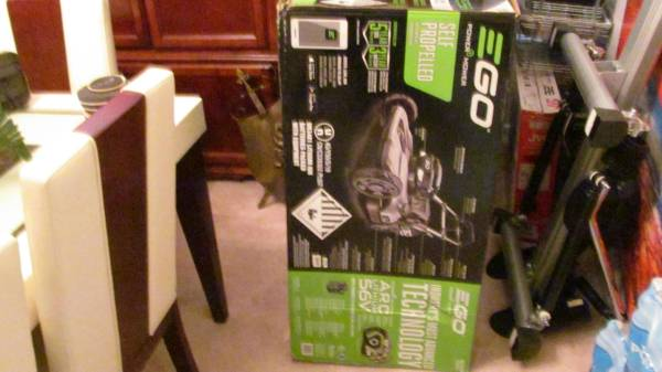 Photo Ego Self Propelled Lawn Mower( New In box Never used ) $450 NOW Firm - $450 (Slidell)