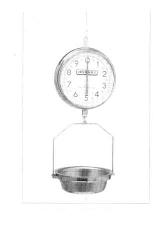 Photo Hobart Hanging Dial Scale - $250 (Abita Springs)