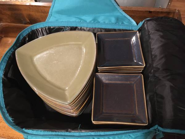 Photo Homer Laughlin Specialty Plates  Carrying Case for Pyrex - $10 (Lower Garden District)