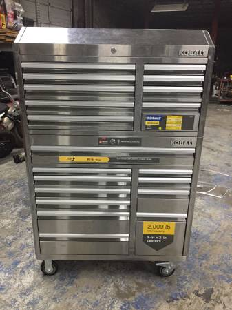 Photo KOBALT TOOL BOX - $900 (New Orleans)