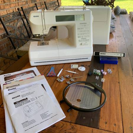 Photo Kenmore Embroidery Sewing Machine and Amazing Box - $150 (Abita Springs)