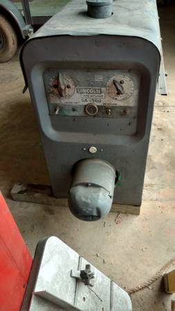 Photo Lincoln SA-200 Welder For Sale - $4400 (Franklinton)