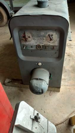 Photo Lincoln SA-200 Welder For Sale - $4400 (Franklinton)