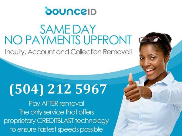 Photo No Upfront Charge Credit Repair Service