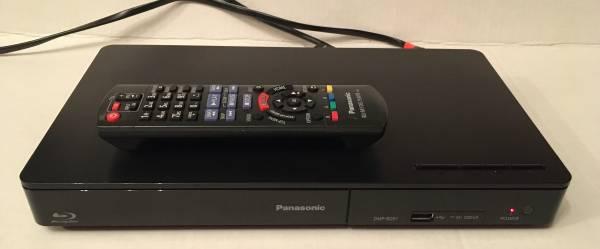 Photo Panasonic Blu-ray  DVD Player w remote - $40 (7thWard)