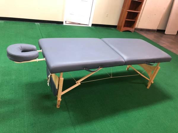 Photo Portable Massage Table - $100
