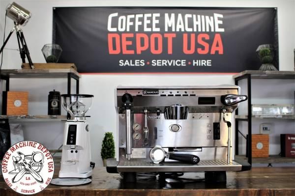Photo Rancilio Classe 8  Grinder Combo Commercial Espresso Coffee Machine - $2,999 (Los Angeles)