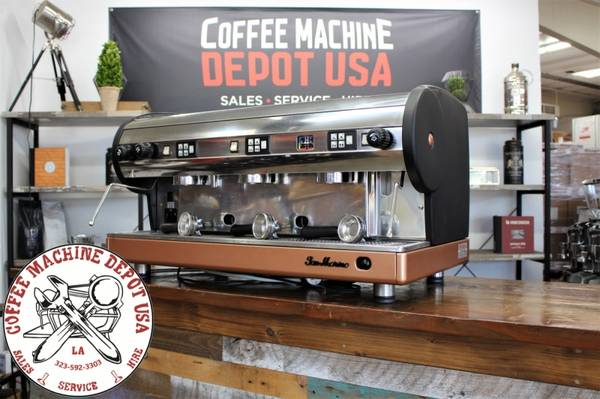 Photo San Marino Lisa 3 Grp Commercial Coffee Espresso Machine Custom Paint - $2950 (Los Angeles)