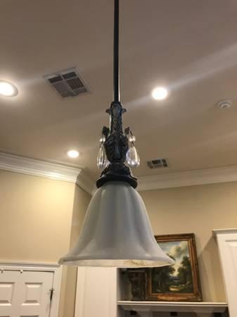 Photo Set of 3 Island Light Pendants - $175 (Abita Springs)
