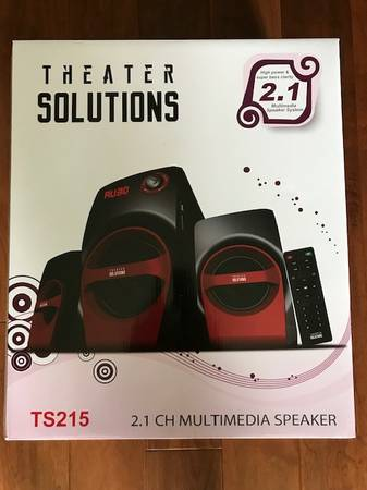 Photo Theater Solutions 350 watt HOME THEATRE SYSTEM - Brand New - $39 (New Orleans  Destrehan)