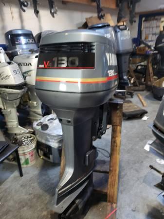 Photo 130 hp Yamaha Outboard motor engine - $2550 (I will ship worldwide)
