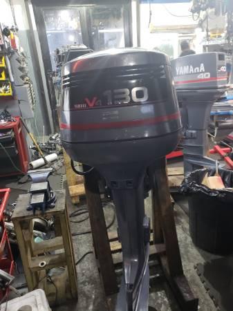 Photo 130 hp Yamaha Outboard motor engine - $2650 (I will ship worldwide)