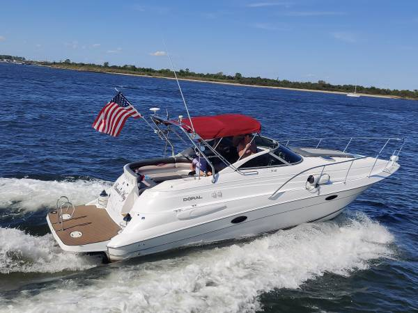Photo 2000 DORAL 300SE NEW BOAT IN  OUT LOW HRS BEAUTIFUL BOAT NEEDS NOTHIN - $32,500 (Staten Island)