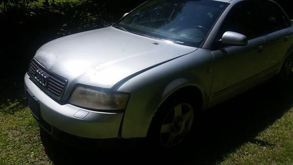 Photo 2002 to 2004 audi a4 1.8t parts car or fix - $700 (peekskill)