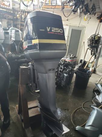 Photo 250 hp Yamaha Outboard motor engine 30 inch shaft - $2950 (I will ship worldwide)