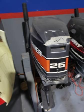 Photo 25 hp mariner Yamaha Outboard motor engine - $1200 (I will ship worldwide)