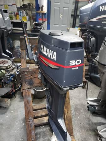 Photo 30 hp Yamaha mariner Outboard motor engine - $1850 (I will ship worldwide)