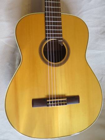 Photo All Solid Wood - FLAMED MAPLE - Goya G-20 Guitar, 1960s, - MINT - $550 (Downtown)