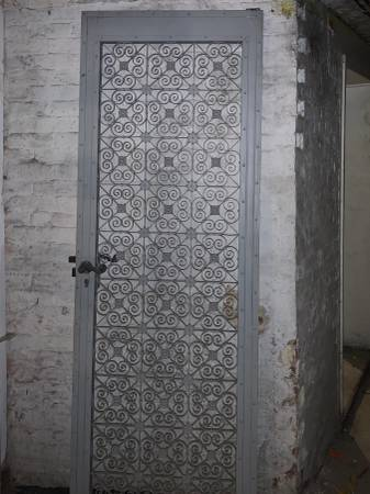 Photo Antique elevator door gate vintage industrial - wrought iron - $1200 (Park Slope - delivery possible)
