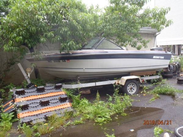 Photo Boat and Trailer for sale (Yonkers n.y.)
