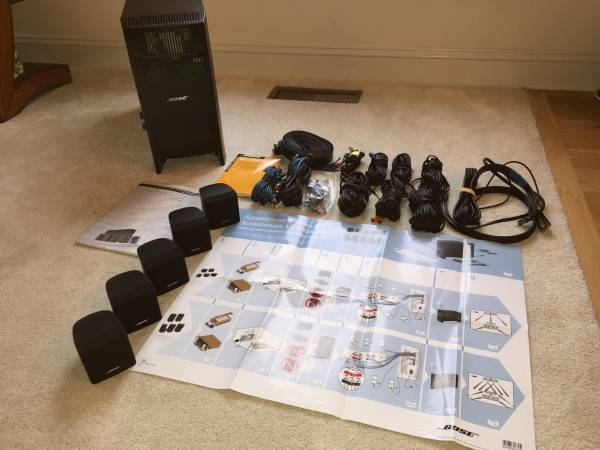 Photo Bose Home Theater Speaker System - $300